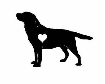 Labrador Retriever Dog Vinyl Decal | Pets Dogs Decal  | Labrador Retriever Dog Vinyl Decal  Labrador Retriever Dog Vinyl Decal decal