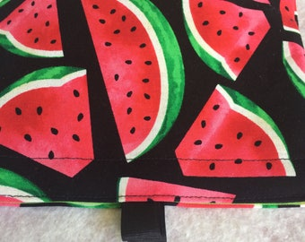 Watermelon snack bag  sandwich bag  reusable