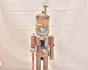 Medium Steampunk Robot Nutcracker