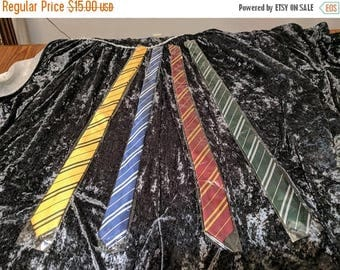 Mega New Year Sale HP Themed ties - all 4 house colors