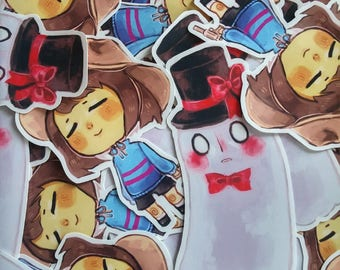 Frisk & Blook Stickers (50% OFF)