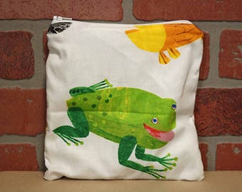 One Sandwich Bag, Reusable Lunch Bags, Waste-Free Lunch, Machine Washable, Brown Bear, Sandwich Sacks, item #SS76