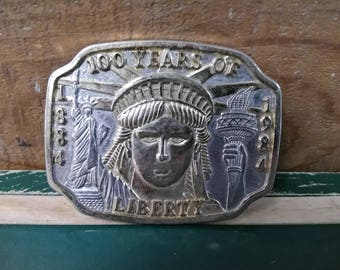Statue of Liberty Belt Buckle Liberty Belt Buckle