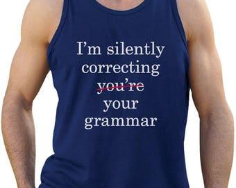 I'm Silently Correcting Your Grammar Singlet