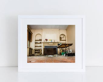 Living Room - Urban Exploration - Fine Art Photography Print
