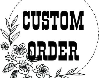 Custom Design add on to your order