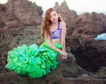 Walkable Ariel Little Mermaid Costume RESERVED LISTING for Catherine