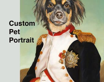 Custom Pet Portrait, Custom Pet Painting, Commission Pet Painting
