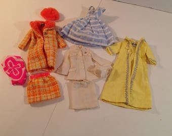 10 Vintage Barbie Clothing Items from 1960s Era Labeled