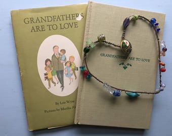 Grandfather are to Love, Lois Wyse, Martha Alexander, Grandfather, Grandpa Gift, Christmas Present, 1967, Tiny Size, Collection, Display
