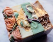 MIX+MATCH FOUR, Save on any Four Bars, Vegan Cold Process Soaps for Hand & Body