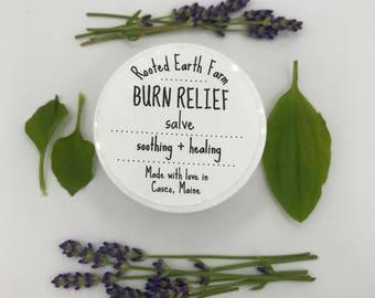 Burn Relief Salve, Gifts for Chefs, Sunburn Relief, Cooking Gifts, Burn Cream, Healing Salve, Cream for Burns, Burn Salve, Sunburn Cream