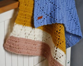 crochet baby blanket, baby blanket, handmade baby blanket, christmas