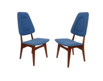 Danish Modern Teak Dining Chairs High Back Dining Chairs Sorheim Nestum Mobler