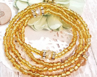 Waist Beads, Beaded Belly Chain, Seed Beads, African Waist Beads, Women's Jewelry, Body Jewelry, Minimalist Jewelry, Women's Body Jewelry,