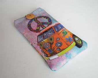 Cell phone case, iPhone X case, Galaxy S8 sleeve, Nokia case, Huawei P10 sleeve, Moto case, ZTE case, LG sleeve, Xperia sleeve, VW camper