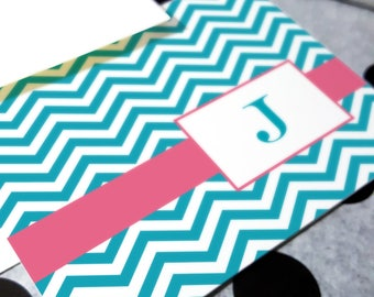 Personalized Gifts | Personalized for Mom | Stationery Gift | CHEVRON INITIAL | Stationary Notecards | Custom Gift for Her | Note Cards
