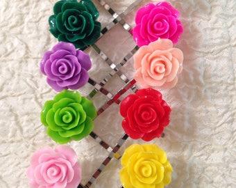 Fun rose hairpins!