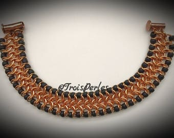 Chain Maille bracelet-Chainmaille Bracelet
