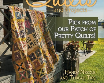 Primitive Quilts and Projects - 2017 Fall Issue