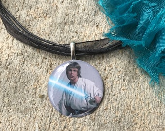 Luke Skywalker Star Wars Necklace Pendant