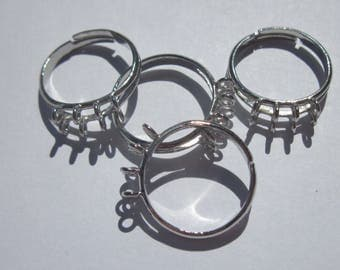 4 adjustable rings with ring attachment with double row - (6)