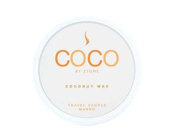 COCO Coconut Wax Travel Tin - Mango