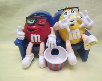 M & Ms  in Movie  Theater Dispenser ** Limited edition