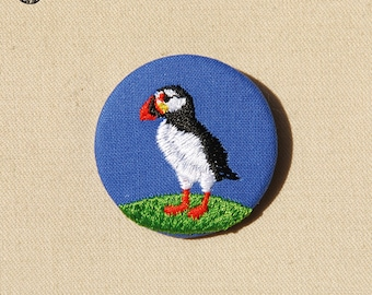 The Puffin brooch