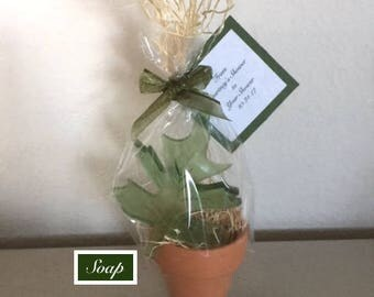 12 rustic wedding favors leaf soaps baby shower favors fall bridal shower favors