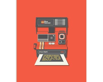 1983 - a Star Wars & Polaroid inspired, limited edition screenprint