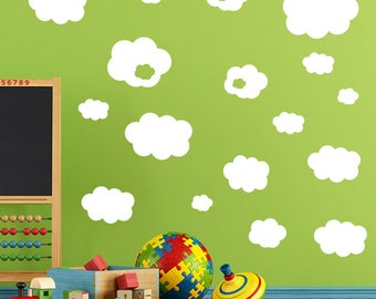 Clouds Wall Stickers A29