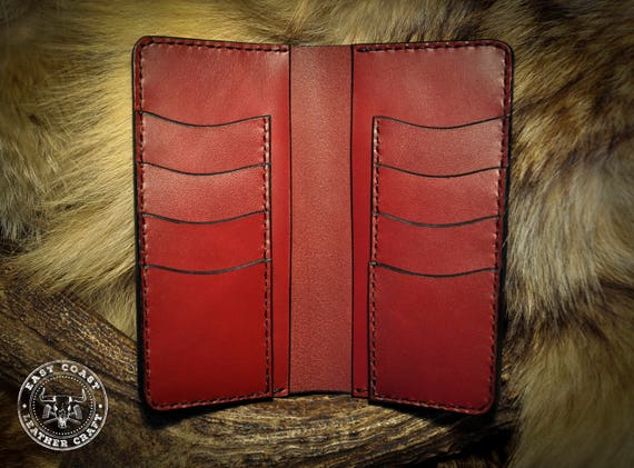 Classic Leather Wallet - Premium Wickett and Craig English Bridle Leather