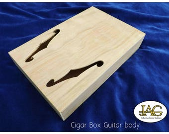 Cigar Box Guitar body,various styles, ready made or kit..