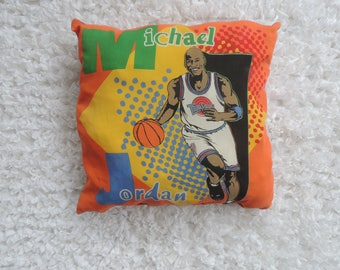 Nineties Michael Jordan Space Jam pillow
