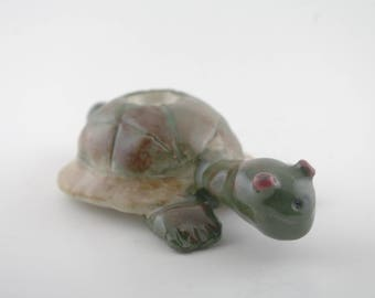 Tortoise peace pipe