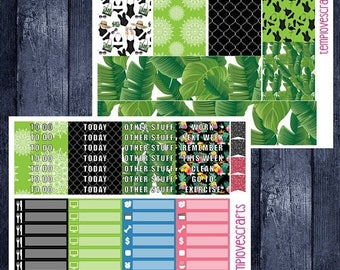 Resort Set for Erin Condren Life Planner
