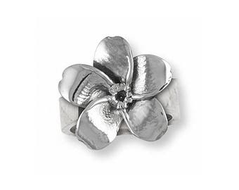 Forget Me Not Ring Jewelry Sterling Silver Handmade Flower Ring FMN1-R