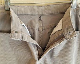 719 Levis Corduroy Student 30x32 Pants USA 1970s Kids