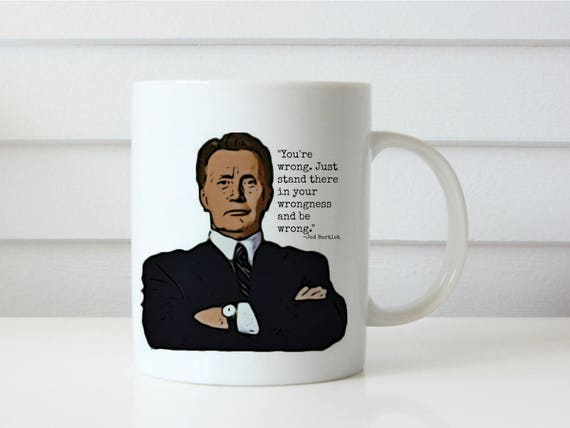 WEST WING MUG  wrong bartlet mcgarry lyman coffee mug west wing show mug coffee mug gift mug johsh lyman lemon lyman aaron sorkin