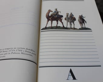Carnet libro appunti Franco Maria Ricci made in Italy quaderno agenda rubrica indirizzi telefono
