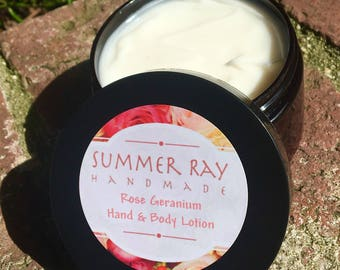 All Natural Scented Hand & Body Lotion