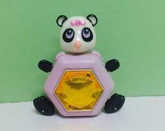 Sweet Secrets Toy, Panda Bear, Pinkie Panda, Sweet Secret Animals, Transforming Jewelry, Galoob Toys, Sweet Secrets Doll, Vintage 1980s Toys