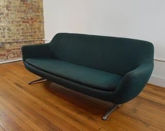 overman sweden space age modern pod sofa