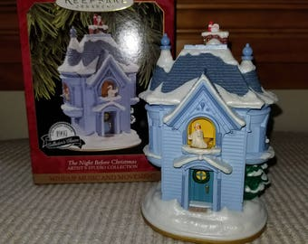 The Night Before Christmas, Keepsake Ornament, 1997