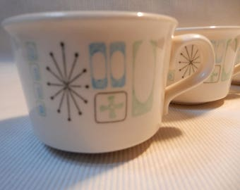 Taylor Smith Cathay Mid Century  Coffee Cups