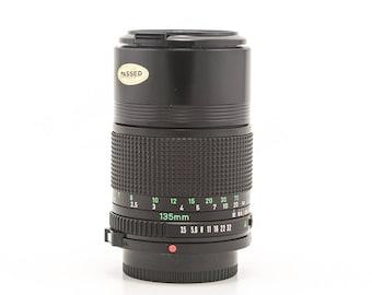 CANON FD 135mm f/3.5 Prime Lens Canon FD Mount with Original Box - Canon AE1 - Canon AE1 Program