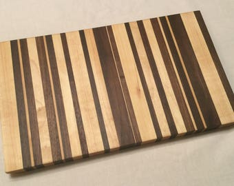 Cutting Board - Walnut and Maple