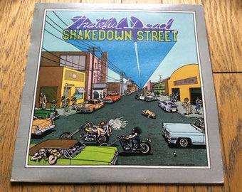 Grateful Dead Shakedown Street original vinyl record lp album jerry garcia hippie jams rock n roll