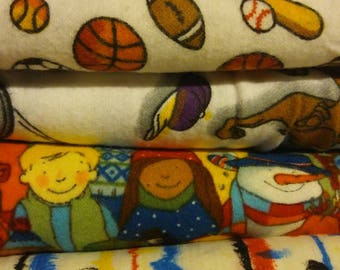 Giant collection of Kids Fabrics- vintage and new and yardage!!